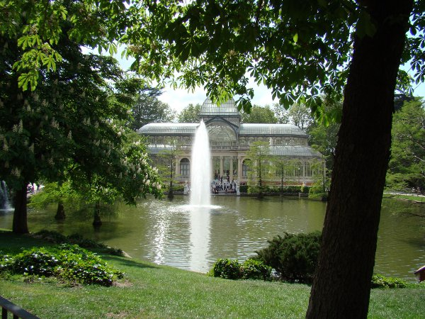 The Crystal Palace at Parque del Retiro