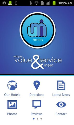 umi Hotels mobile app