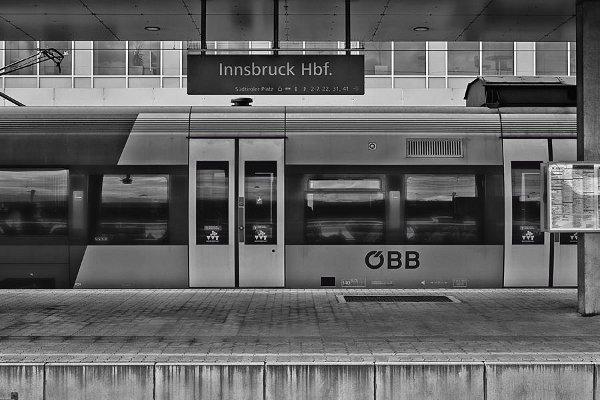 Innsbruck via Eurail
