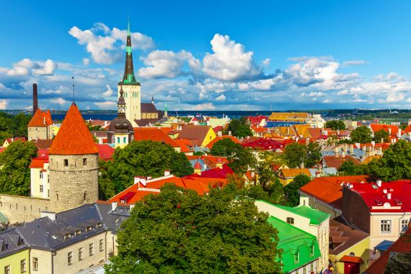 Estonia's capital Tallinn has always been the main focus of its tourist industry © Scanrail - Fotolia.com