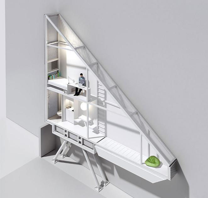 The Keret House – Poland's Narrowest Home