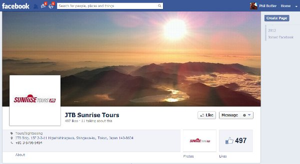 JTB's Sunrise Tours on Facebook - Don't let the sun set guys, beef up SM