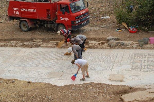 The Gazipaşa mosaic uncovered