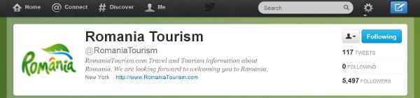 Social media for Romania tourism