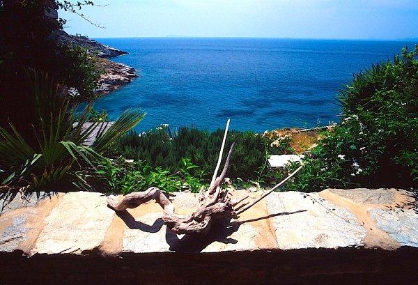 View from Villa Maria at current Kastellakia Bay Villas
