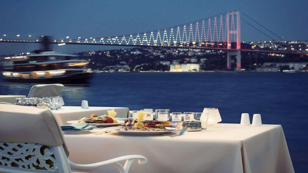 Dining at the Bosphorus Grill