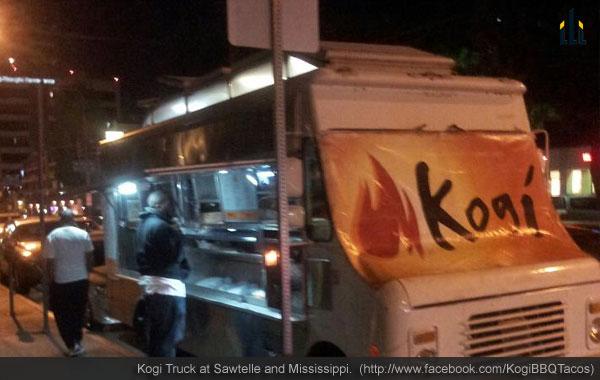 Kogi Truck at Sawtelle and Mississippi.