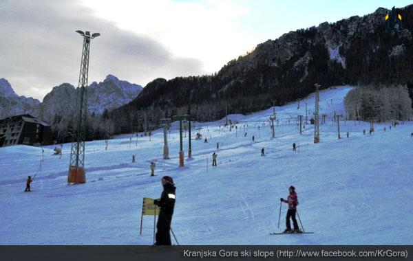 Kranjska Gora ski slope