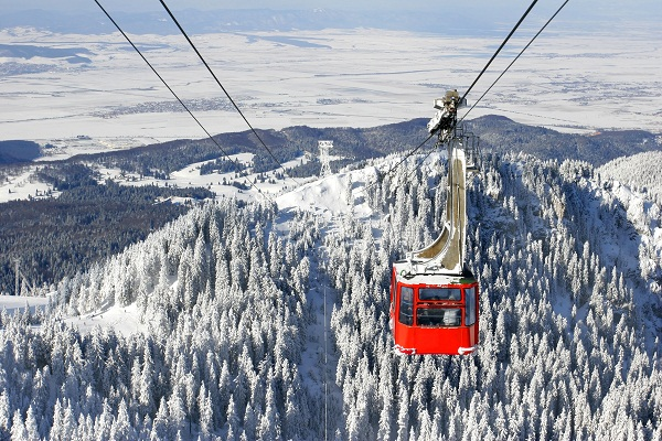 Sinaia cable car