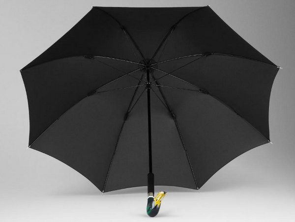 Handmade duck head umbrella from Burberry