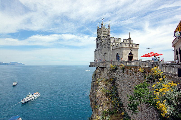 Ukraine, Crimea, Swallow's Nest