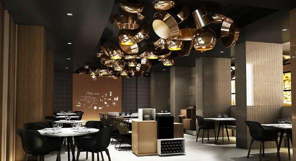 "The Berlin extension of Paco Pérez's Spanish two-star restaurant, ""Miramar"""