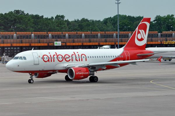 airberlin offers daily flights to Bucharest and Sofia as of today. Courtesy caribb