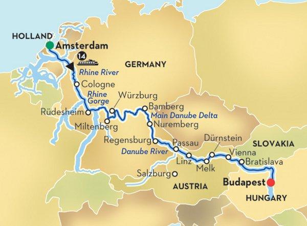 Avalon Waterways Danube