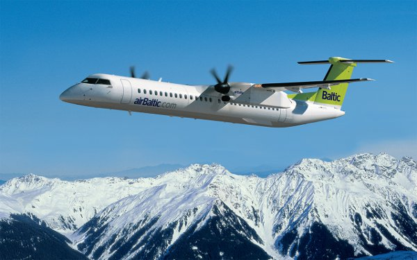 airBaltic December 2012 Passengers Totals Down