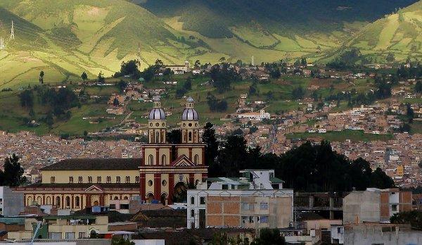 In Pasto Province, Ecuador