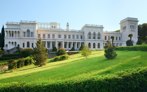 Livadia Palace in Livadiya, Crimea, Ukraine.  - courtesy © wildman - Fotolia.com
