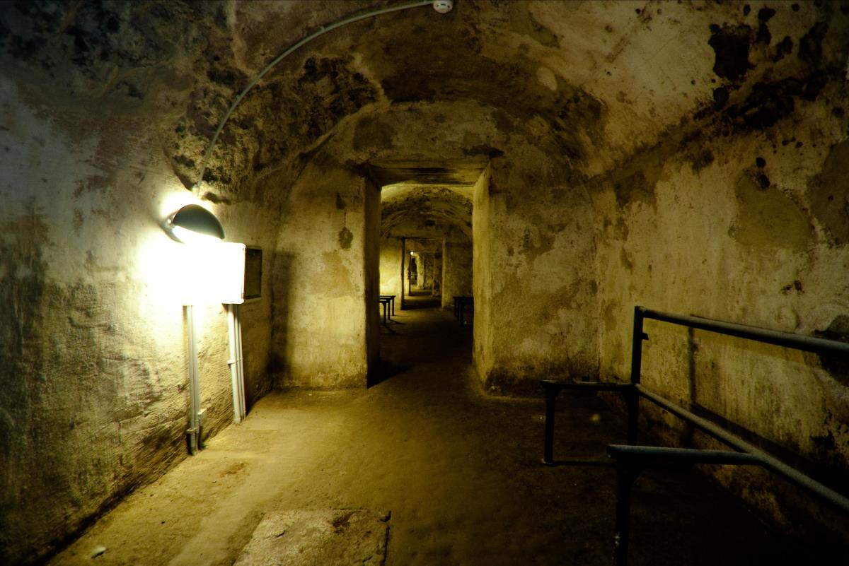 Tallinn's Bastion Tunnels: Image courtesy Morgennebel
