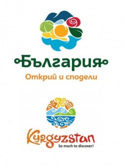 Bulgaria Krygystan logo comparison