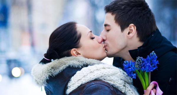 dragobete kiss