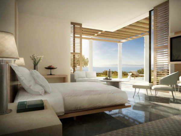 Aman Villa. Master Bedroom
