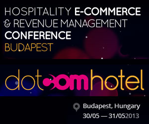 dotcomhotel hospitality conference in Budapest.