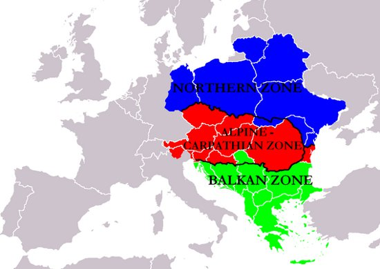 East Central Europe according to Paul Robert Magocsi
