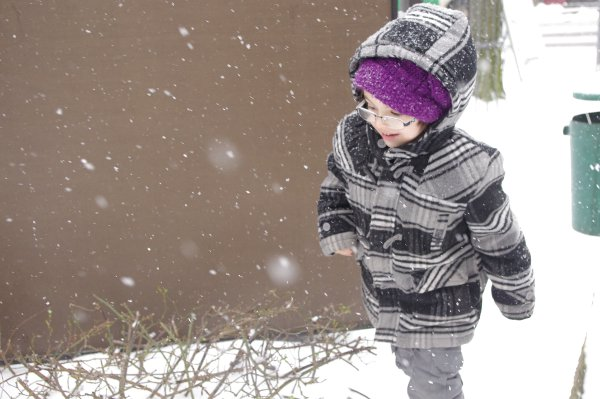 Paul Jules Butler in the snow