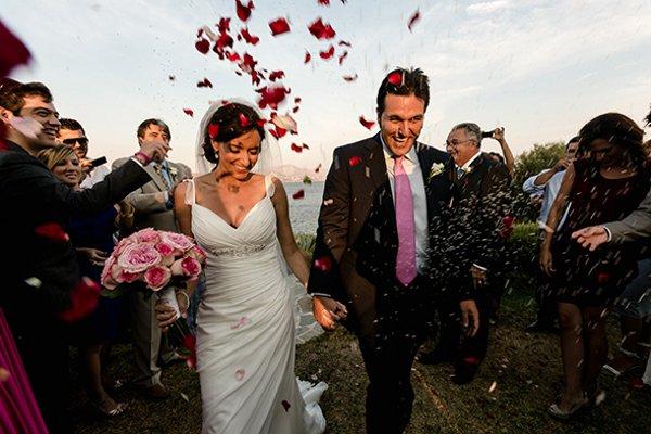 Lisa's wedding - photo courtesy Jet Fete Blog