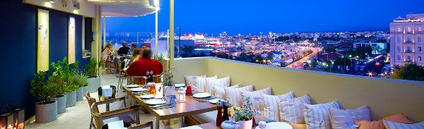 roof-top of Lato Boutique Hotel