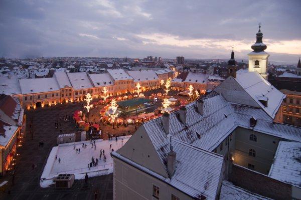Sibiu Christmas market - courtesy © Flaviu Boerescu - Fotolia.com