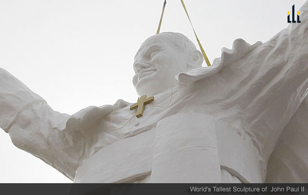 World's Tallest Sculpture of John Paul II