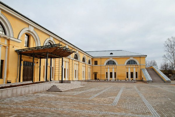 Daugavpils Mark Rothko Art Centre just after construction