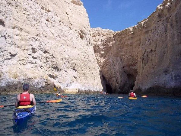 Crete from seaward