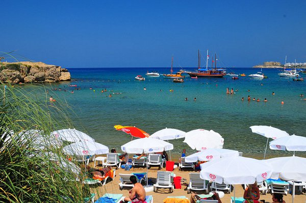 Escape Beach in  Northern Cyprus
