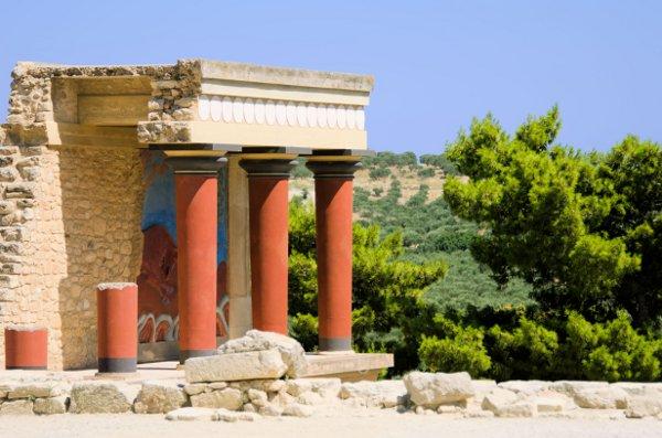 The Palace at Knossos