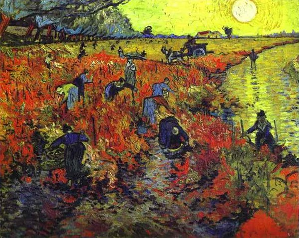 Vincent van Gogh's Red Vineyard