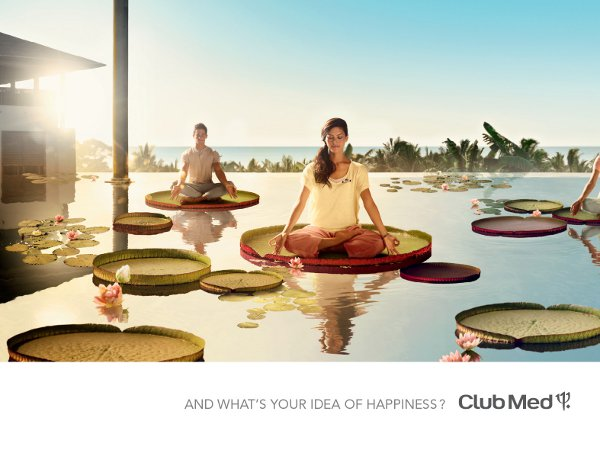 Club Med campaign