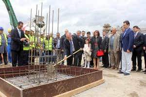 Macedonia's Prime Minister Sets Cornerstone for Hilton Skopje