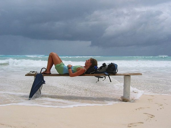 Siesta before the storm