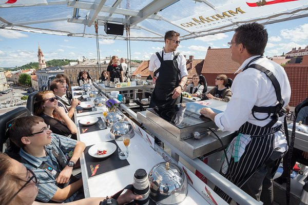 Dinner in the Sky Comes to Vilnius