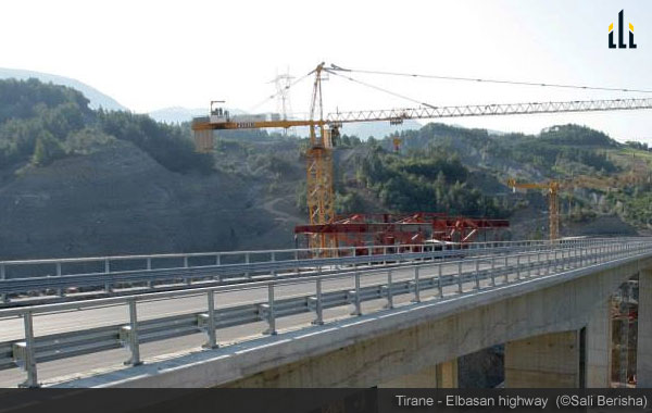 Albania Improves Road Infrastructure with New Tirana-Elbasan Highway