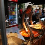 Pražská muzejní noc food stalls