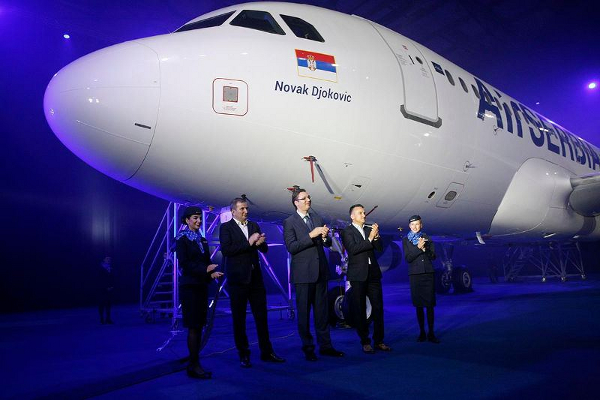 AirSerbia - Novak Djokovic