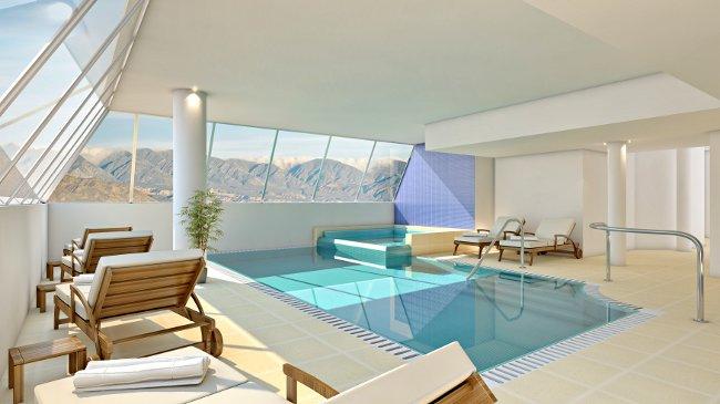 Grace Cafayate indoor pool - courtesy Grace Hospitality SA.