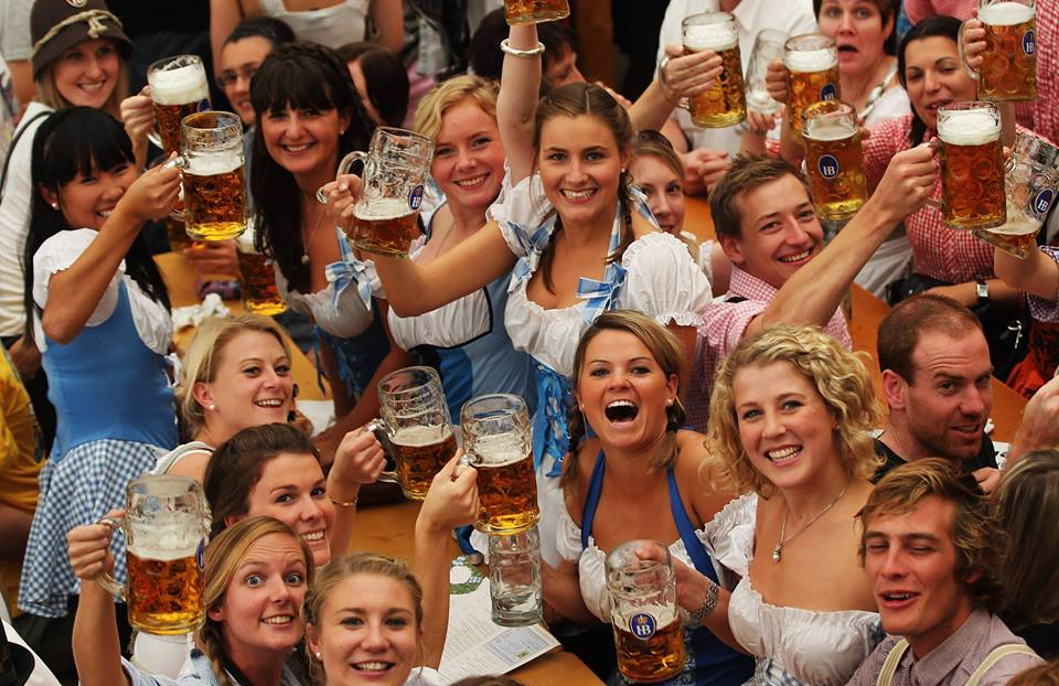 Oktoberfest Comes to Budapest