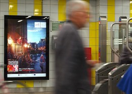 Outdoor campaign promoting Poland on the Dutch market