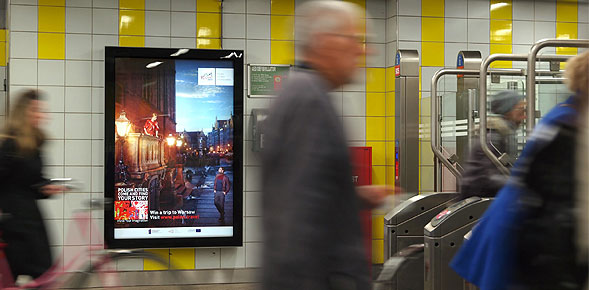 Poland Launches the Largest Outdoor Campaign in the Netherlands