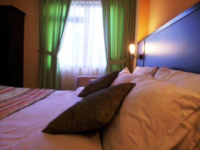 Double room at City Hotel Tirana