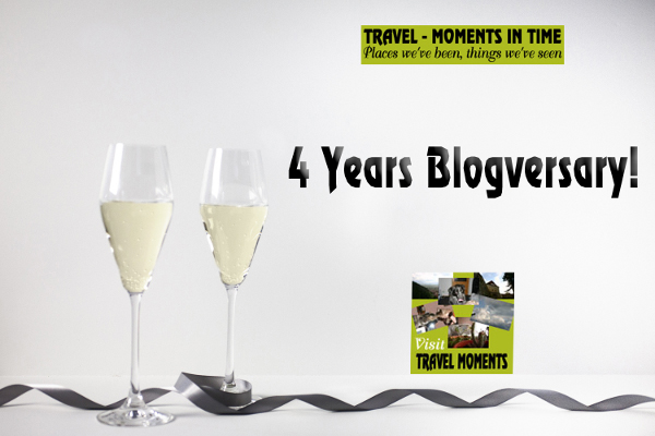 Travel - Moments in Time 4 Years Blogversary